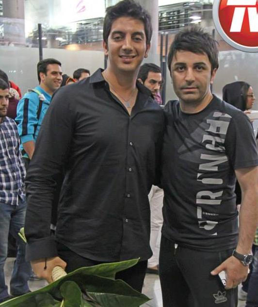 فرزاد فرزین و هنرمندان به ایران بازگشتند